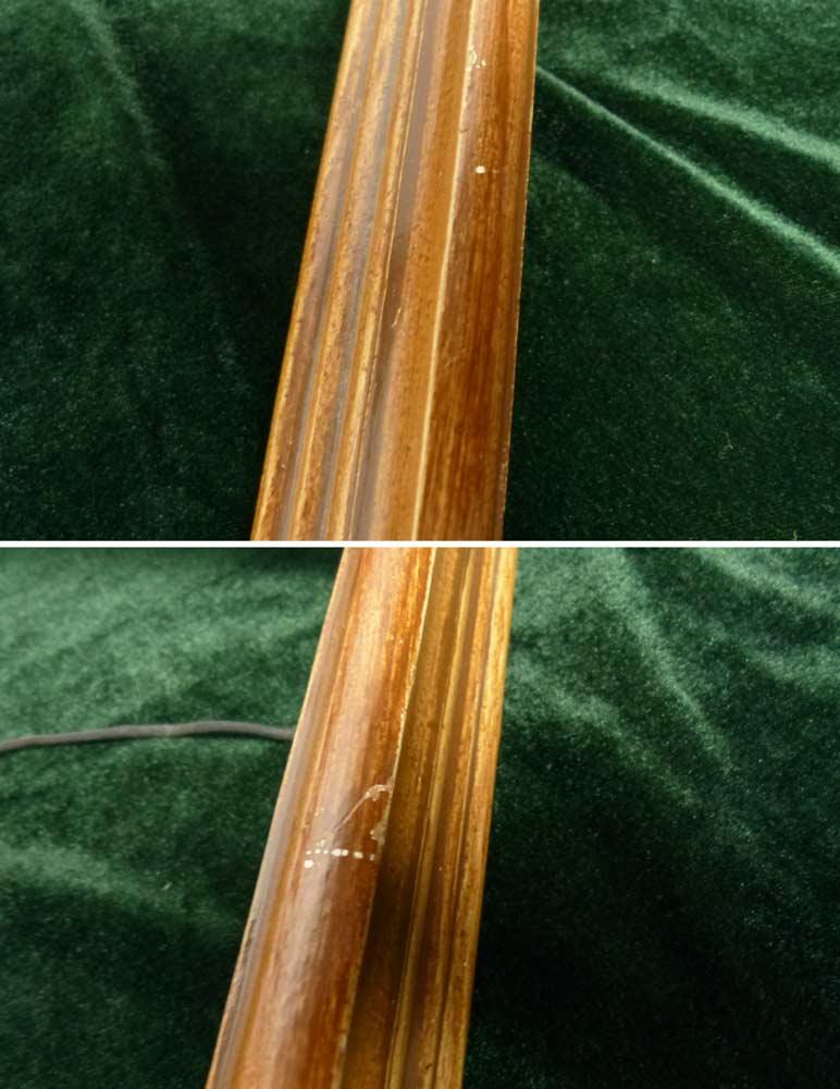 レトロ / アンティーク オールド シャビーな額縁 木製フレーム (ビンテージ)【中古】