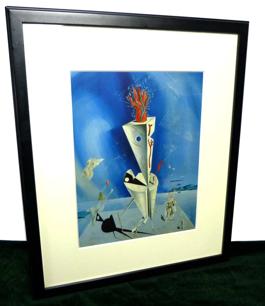 1927年作 サルバドール・ダリ / Salvador Dali  / 器官と手  / 画集 額装【中古】
