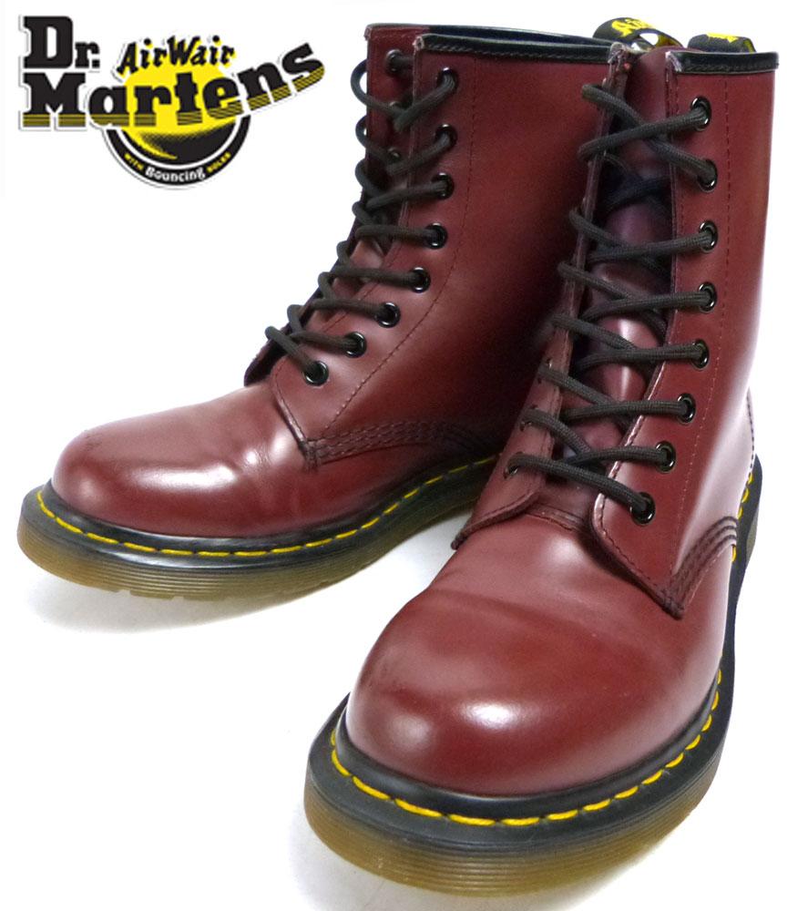 ドクターマーチン / Dr.Martens 8ホール レースアップブーツ (24.5cm相当)(レディース)【中古】