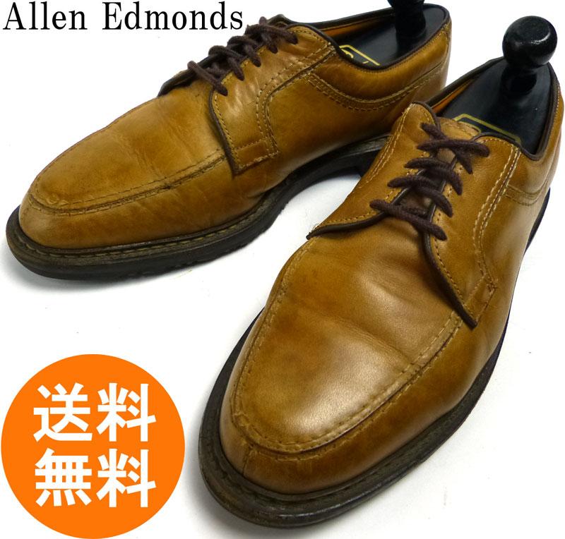 アレンエドモンズ Allen Edmonds Wilbert  Uチップシューズ 8 1/2D(26.5cm相当)(ベージュ)(メンズ)【中古】