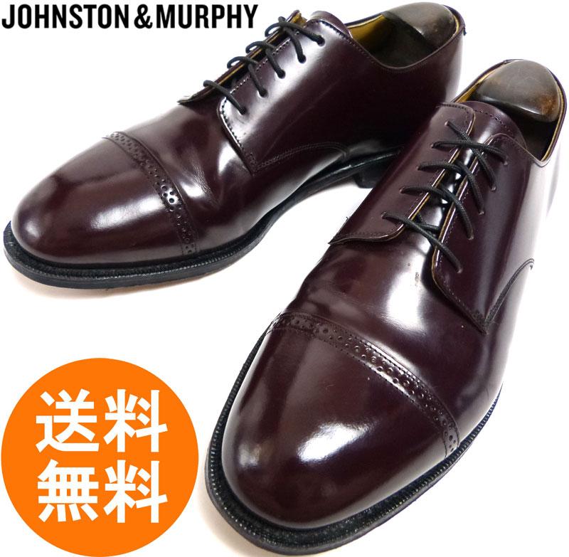 ジョンストン&マーフィー JOHNSTON & MURPHY ウィングチップシューズ 8 1/2 D(26 〜26.5cm相当) ( メンズ )【中古】