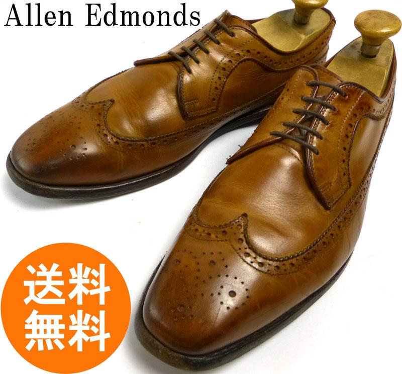 アレンエドモンズ Allen Edmonds Larchmont ラーチモント ウイングチップシューズ 11 D(29cm相当)(ビッグサイズ)(メンズ)【中古】【送料無料】