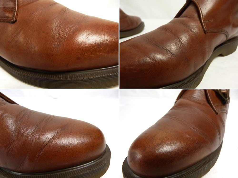 英国製 ドクターマーチン Dr.Martens ストラップショートブーツ /シューズUK8(26.5cm相当)(メンズ)【中古】