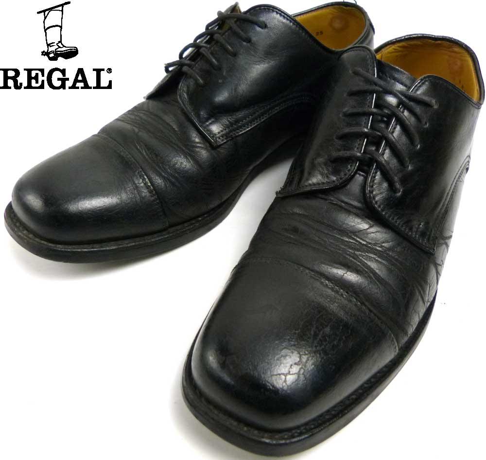 【訳あり】REGAL CLUB リーガル ストレートチップシューズ  25(25cm相当)(メンズ)【中古】