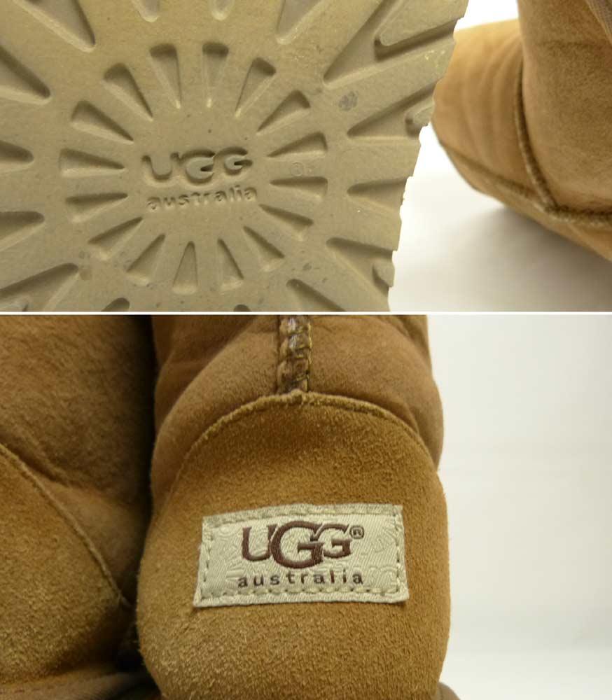アグ UGG CLASSIC SHORT ムートンブーツ US4(22cm相当)(レディース)【中古】