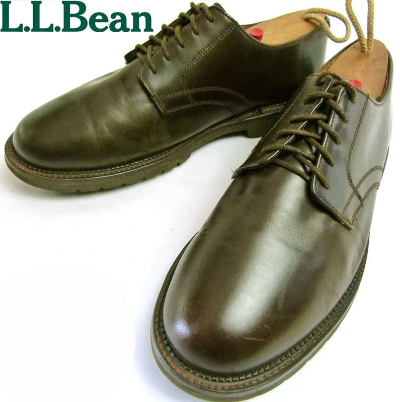 エルエルビーン L.L.Bean (オックスフォード)  プレーントゥシューズ 9 1/2E(27.5cm相当)【中古】