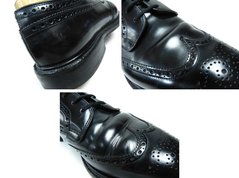 【希少】Church's チャーチ GRAFTON グラフトン ウィングチップドレスシューズ UK10.5F(29cm相当) ( メンズ )(紳士靴)【中古】【送料無料】