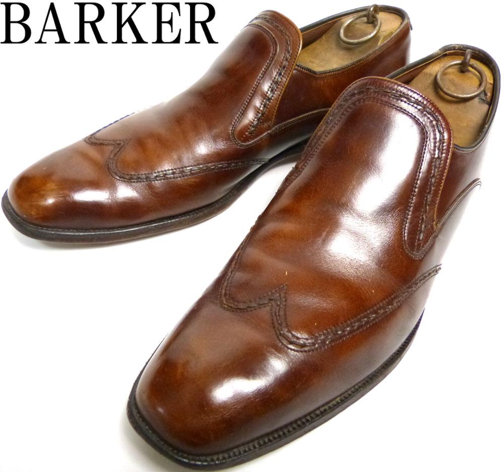 バーカー BARKER  ウイングチップ ローファー UK10 1/2(29cm相当)(メンズ)【中古】