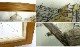 1975年 小磯良平 / 花のサンタ・マリア / 木製額装 インク 水彩画 /直筆サイン入り(箱・袋付き)【中古】【送料無料】