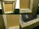 レトロ ヴィンテージ オールド シャビーな油彩額縁 油絵3号 /F3 空額(インテリア用品)【中古】