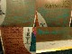 gez 「断庁ーマルテの情景」銅版画/エッチング/多色刷り/ サイン エディション入り 【中古】【送料無料】