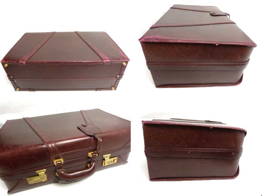 Borsalino ヴィンテージ レザートランク /スーツケース【中古】