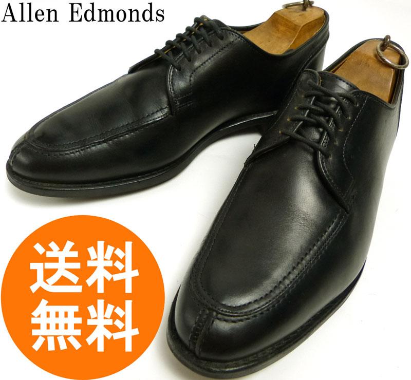 アレンエドモンズ Allen Edmonds CLARK STREET USA製Uチップシューズ 9 1/2D(27.5cm相当)( メンズ )【中古】【送料無料】