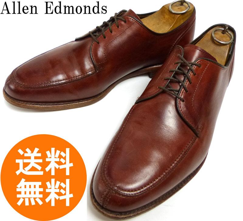 アレンエドモンズ Allen Edmonds Lasalle USA製Uチップシューズ 9 1/2E(27.5cm相当)( メンズ )【中古】【送料無料】