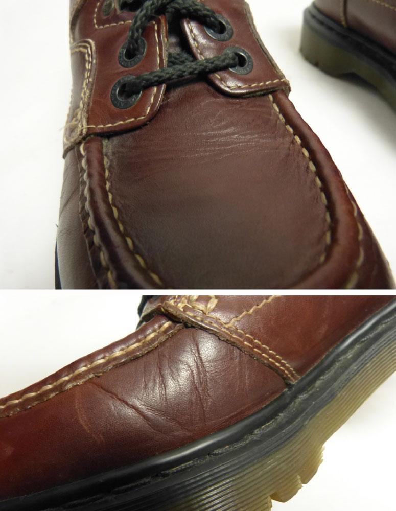 英国製 ドクターマーチン Dr.Martens 4ホールシューズ UK8(26.5cm相当) (紳士靴/メンズ)【中古】【送料無料】