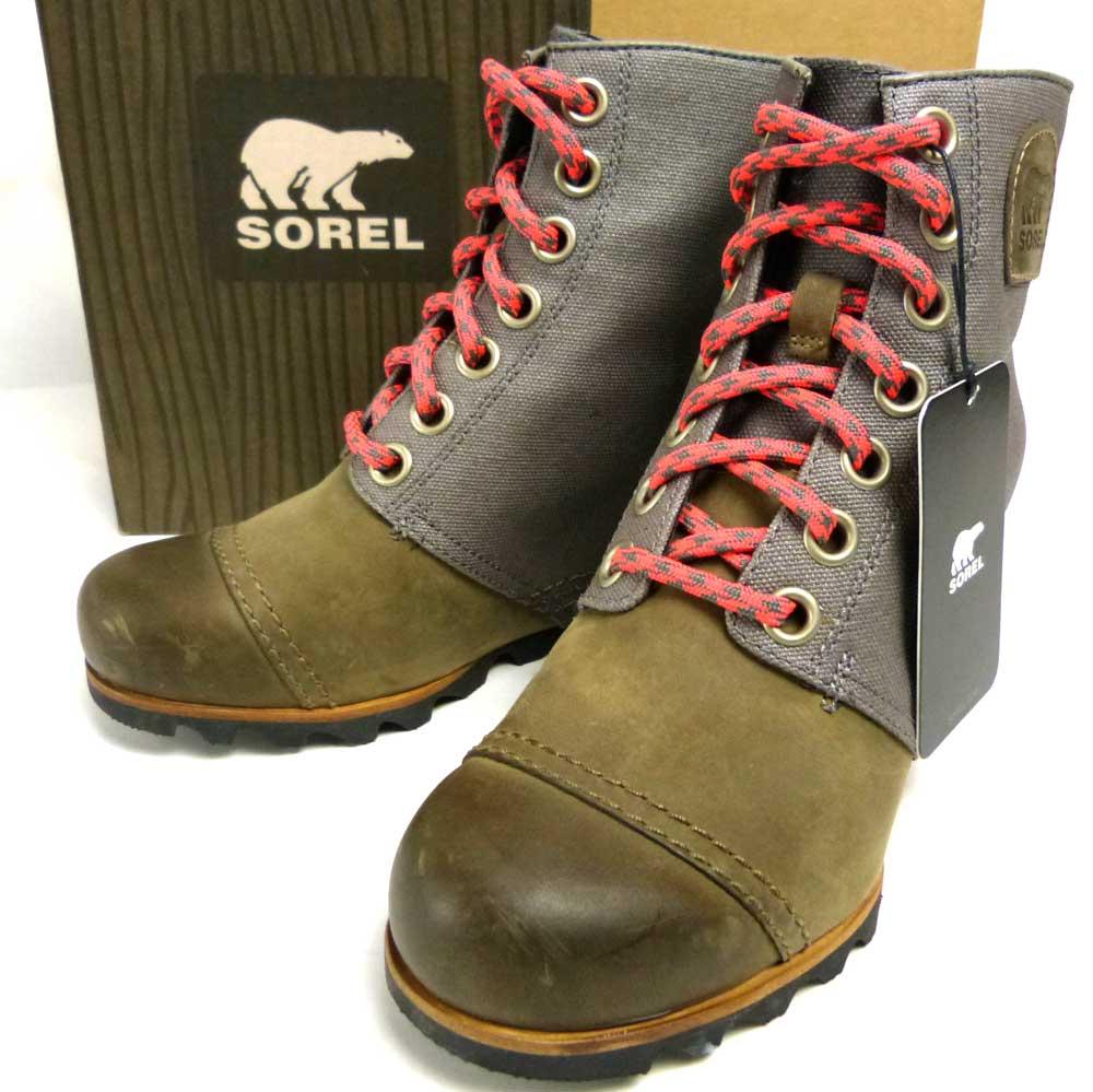 【未使用品】SOREL ソレル  1964 PREMIUM レミアムウェッジ ブーツ US7(24cm相当)(レディース)(箱付デッドストックです)【中古】【送料無料】