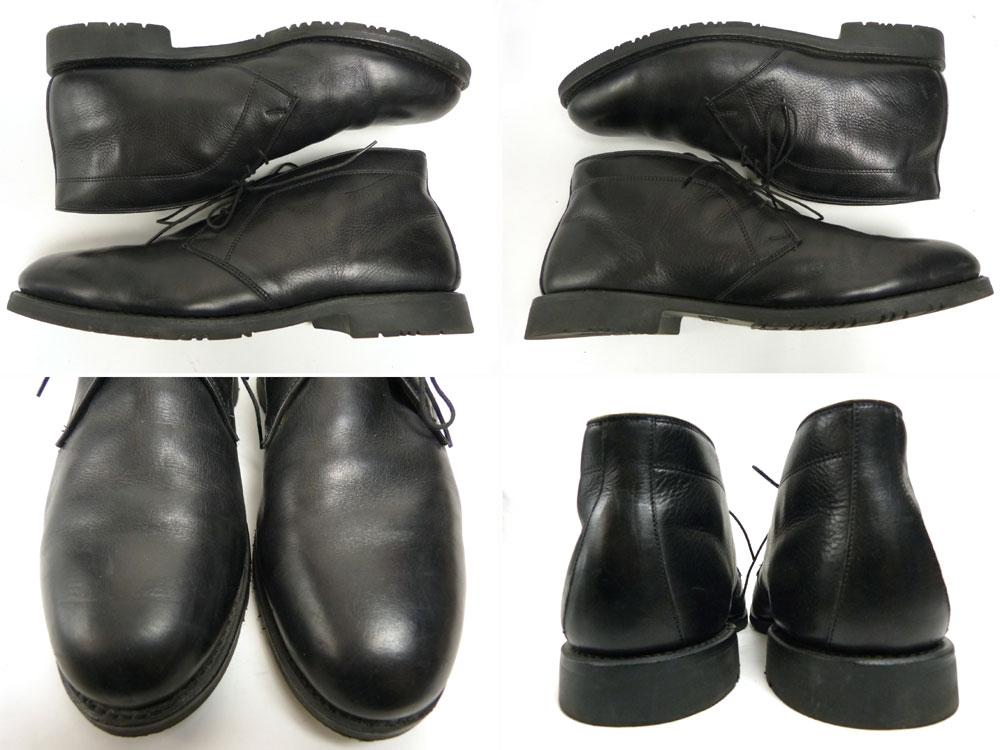Allen Edmonds Stanford アレンエドモンズ スタンフォード チャッカブーツ 11 1/2(29.5cm相当)(黒/ブラック)【中古】【送料無料】