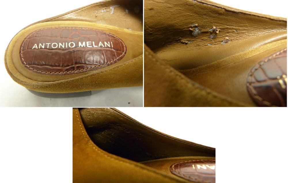 【訳あり】ANTONIO MELANI アントニオメラーニ スエード×レザーサンダル 6 1/2M(23.5cm相当)(レディース)【中古】