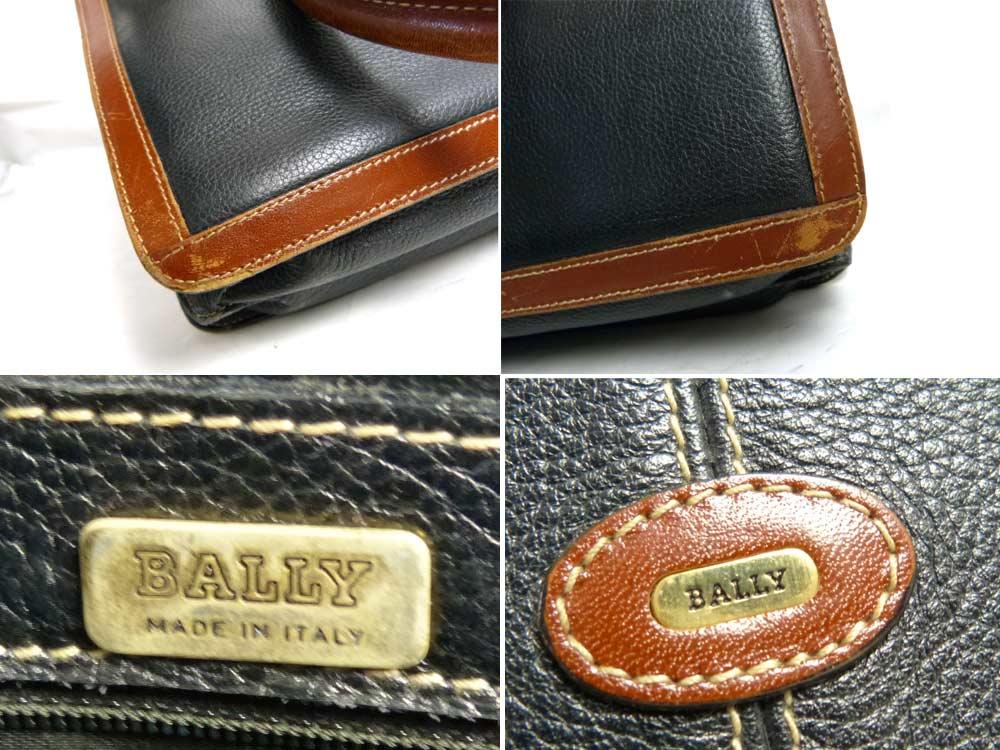 イタリア製 バリー BALLY ハンドバッグ / ビジネスバッグ 【中古】
