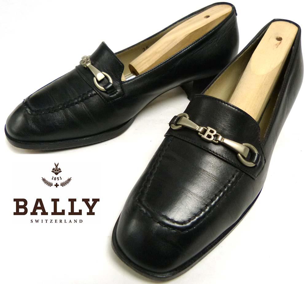 イタリア製 BALLY バリー レザー ビットローファー 35(22-22.5cm相当)(レディース)【中古】