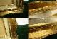 レトロ ヴィンテージ オールド シャビーな金色額縁 SM 油彩額縁 / 油絵【中古】