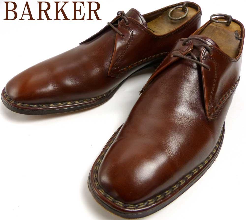 英国製 BARKER バーカー プレーントゥーシューズ 10 1/2(28.5-29cm相当)(メンズ)【中古】【送料無料】