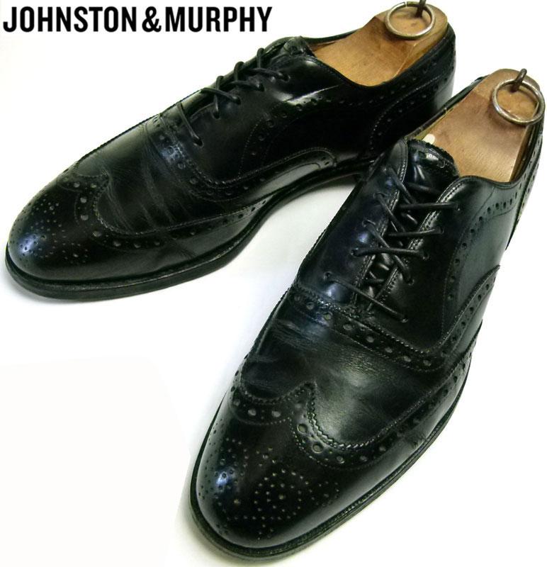 ジョンストン&マーフィー JOHNSTON & MURPHY ウィングチップシューズ 9D(27cm相当) ( メンズ )【中古】