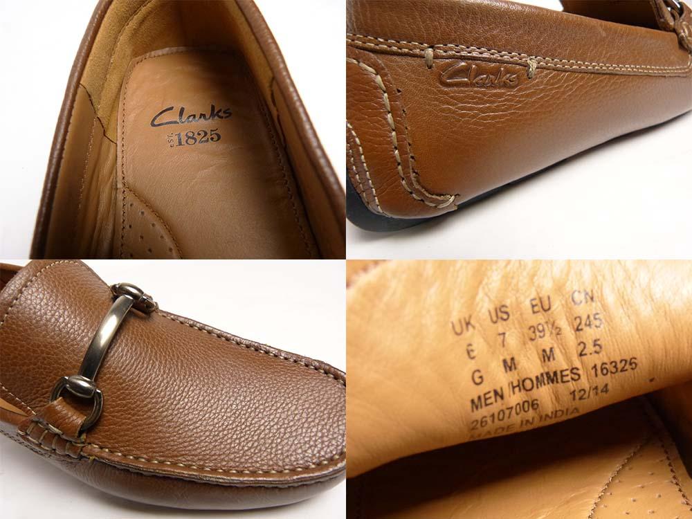 クラークス Clarks レザー ビットローファー / スリッポン UK6/7M(25cm相当)(メンズ)【中古】