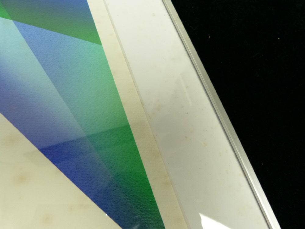 【訳あり】1984 日仏会館 ポスター / シルクスクリーン 多田美波(75/100)(エディション・サインあり)【中古】