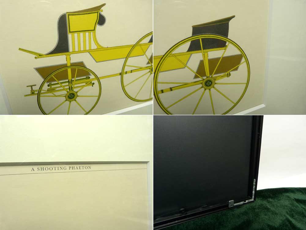 1794 Feltons Carriages /フェルトンズ・キャリッジズ / ヴィンテージ カラープリント  印刷物 / ポスター 【中古】