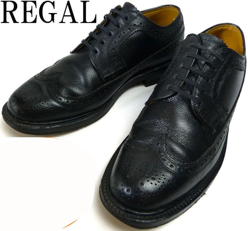 REGAL リーガル/インペリアルグレード 2235 ロングウイングチップシューズ 24EE(24.5~25cm相当)(レディース・メンズ)【中古】
