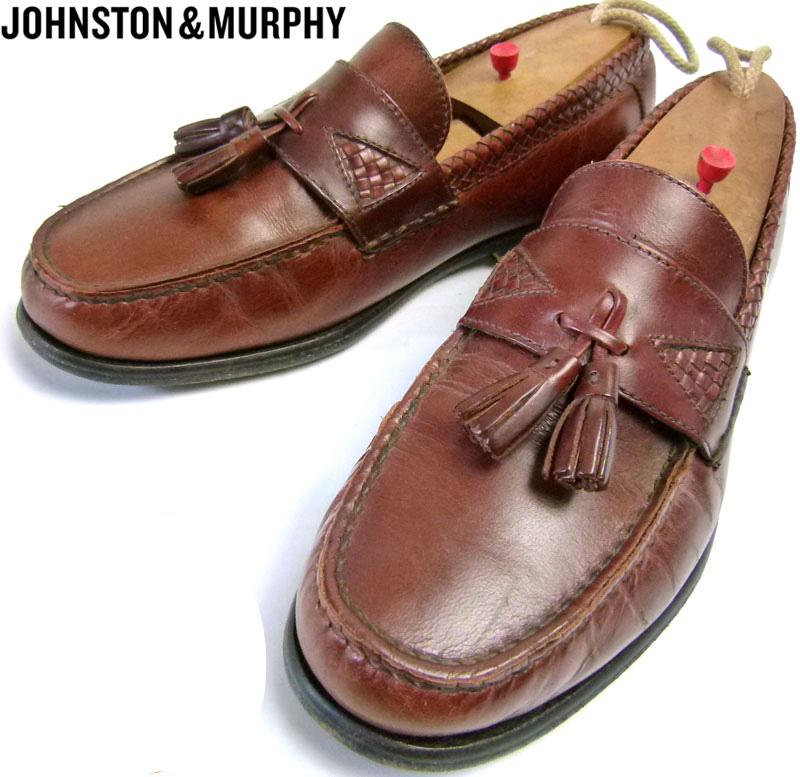 ジョンストン&マーフィー JOHNSTON & MURPHY タッセルローファー 9M(27cm相当) 【中古】