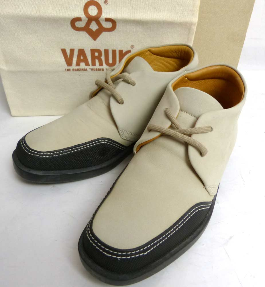 イタリア製  ヴァルク VARUK スエード ショートブーツ 36(23cm相当)(レディース)(袋・箱付き)【中古】