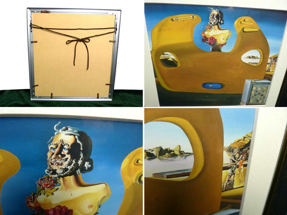 1931年作 サルバドール・ダリ / Salvador Dali  / Memory of the Child Woman  / 画集 額装 / インテリア【中古】