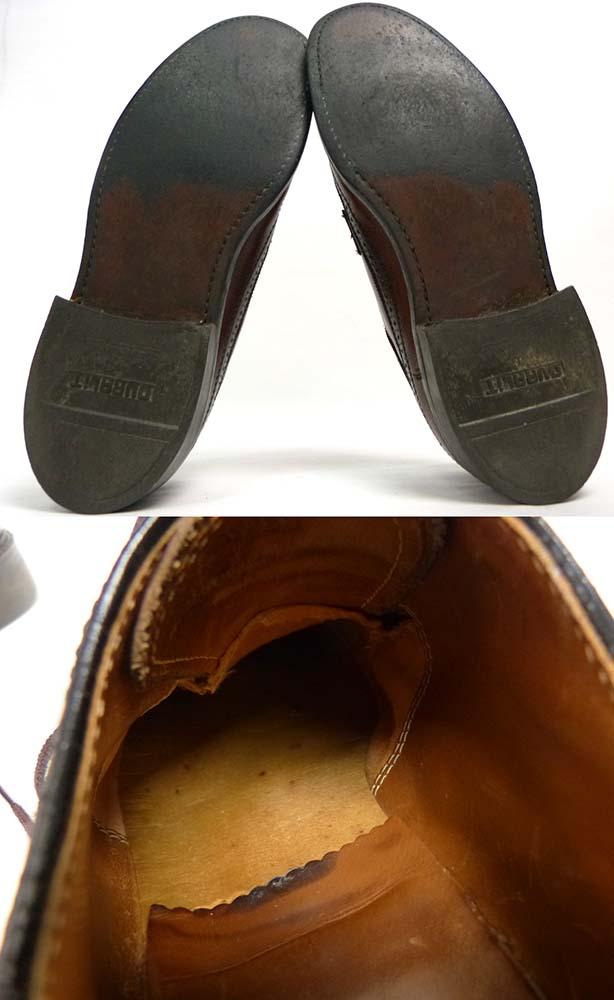 1970-80s 本革ロングウィングチップ シューズ 9D(27cm相当)(メンズ)【中古】