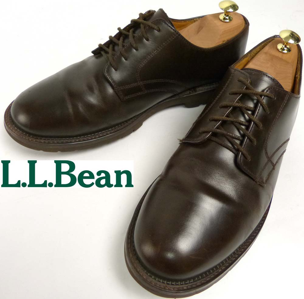 【訳あり】L.L.ビーン /  L.L.Bean オックスフォード / プレーントゥシューズ 9 1/2E(27.5cm相当)【中古】