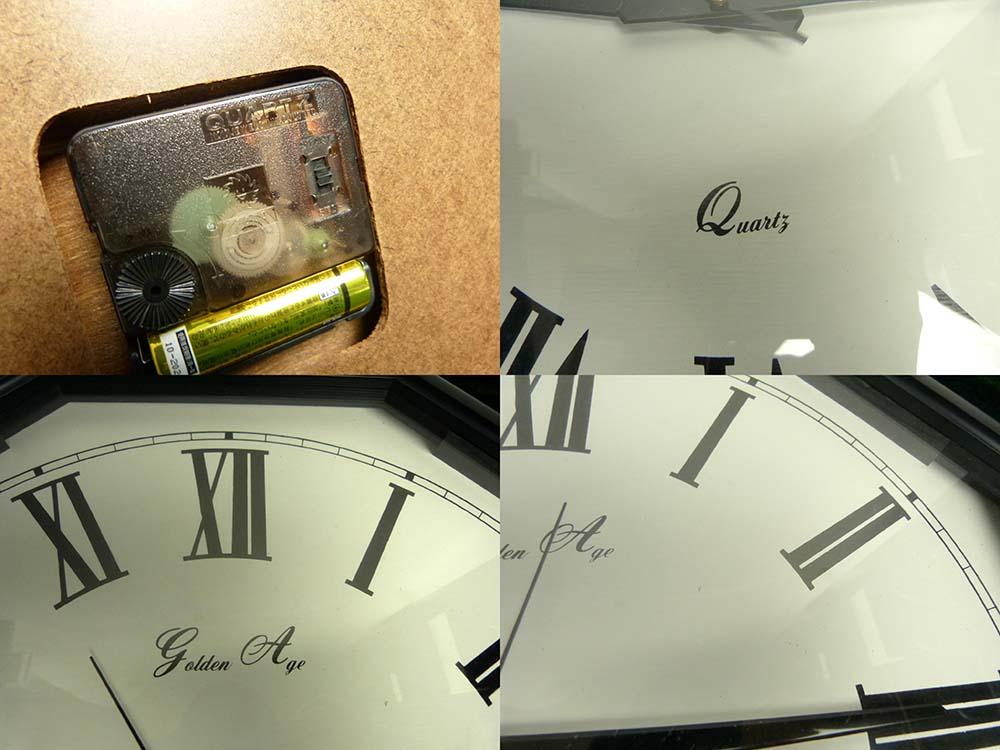 QUARTS クオーツ製 Golden Age / JUMBO WALL CLOCK / 壁掛け時計 【中古】