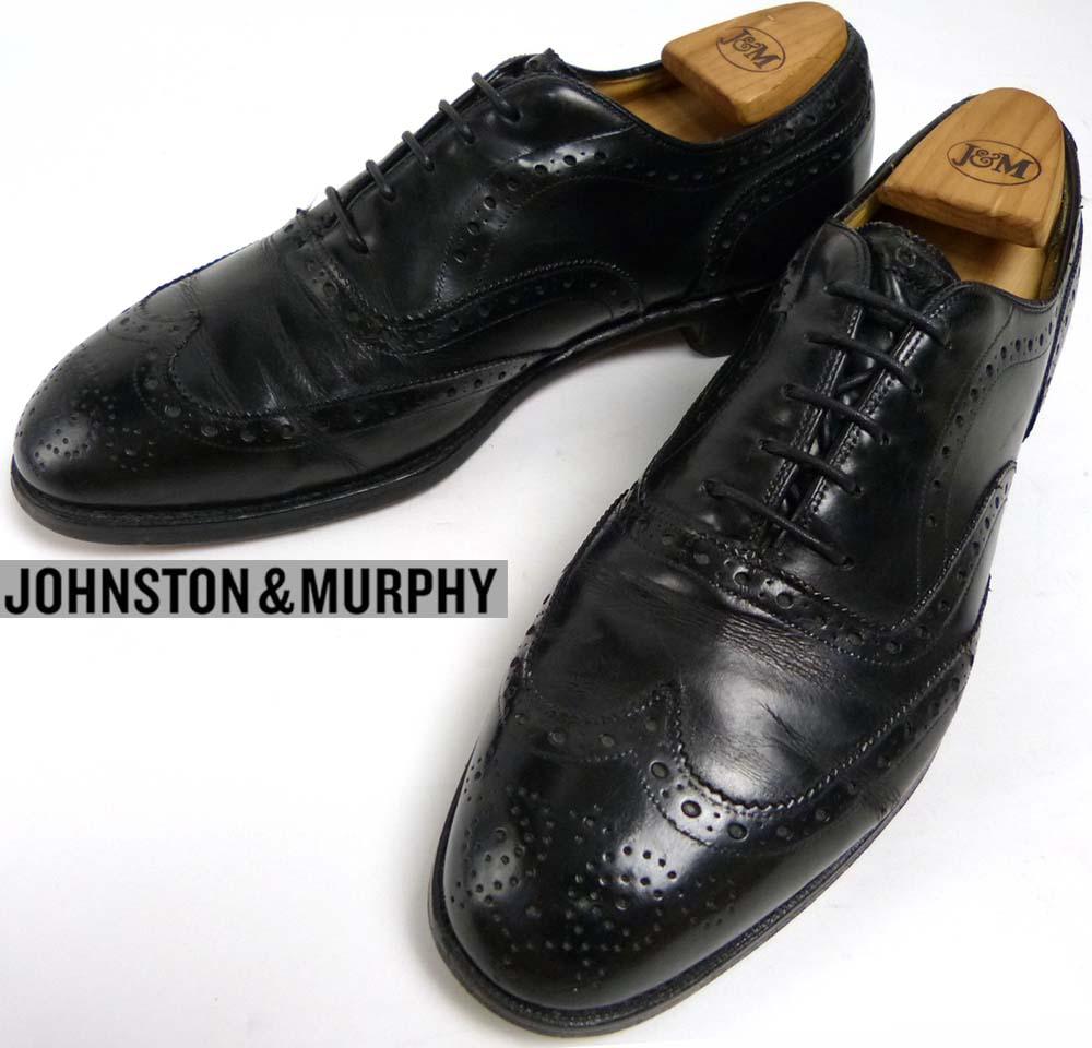 ジョンストン&マーフィー JOHNSTON & MURPHY ウィングチップシューズ 9D/B(26.5-27cm相当) ( メンズ )【中古】