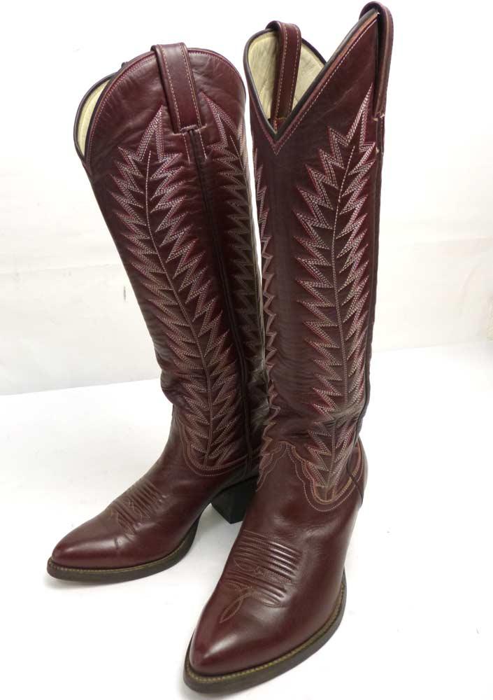1970-80s FUNNY WESTERN ファニー ウエスタン ブーツ 4 1/2(22.5cm相当)(レディース)【中古】