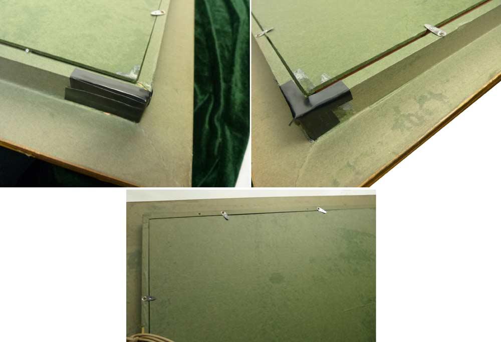 1960−70s シャビーな金の額縁 / 油彩額縁 / 油絵F15 / 15号【中古】【送料無料】