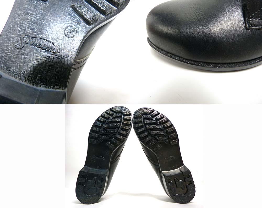 【未使用品】シモン セーフティーシューズ 安全靴  JIS規格 25 1/2EEE(25.5cm相当)(メンズ)【中古】