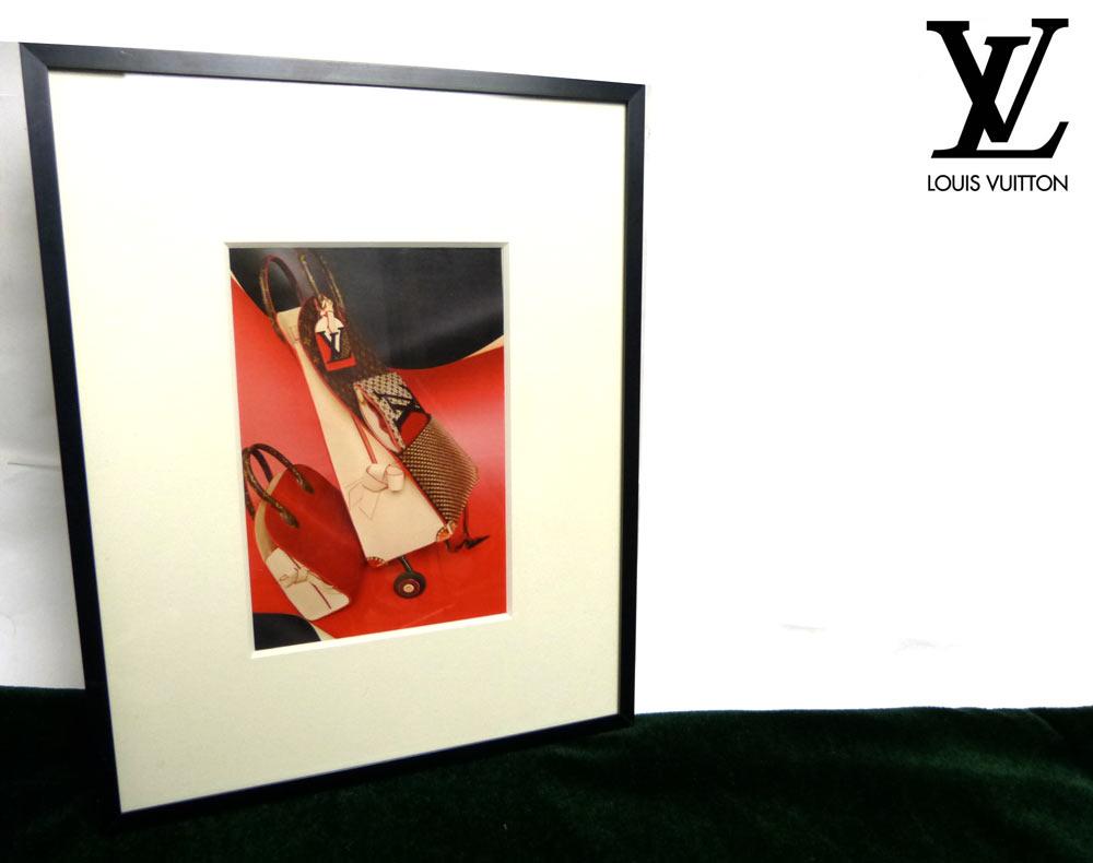 オールド額縁フレーム  ルイ・ヴィトン(Louis Vuitton ) のカタログの切り抜き/ポスター【中古】