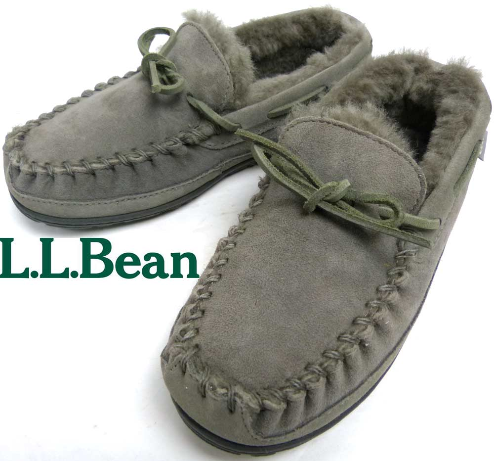 エルエルビーン L.L.Bean 裏ボア ウィケッド・グッド・キャンプ・モカシン ローファー Womens 7(24cm相当)(レディース)【中古】