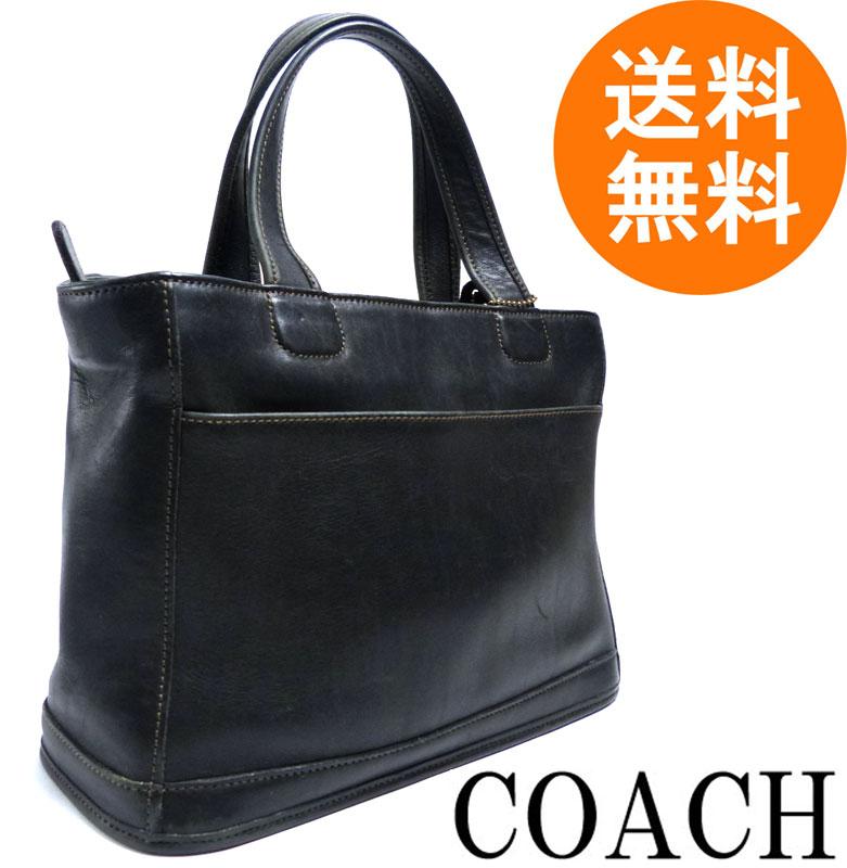 オールドコーチ OLD COACH ハンドバッグ (黒)【中古】