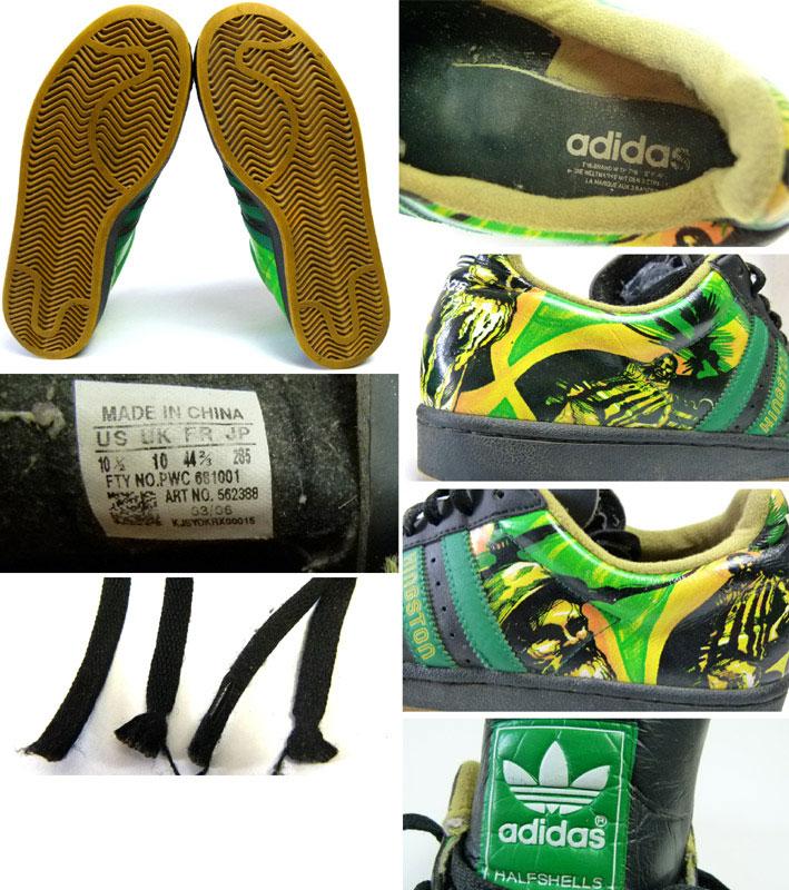 アディダス adidas HALFSHELL CITY ハーフシェルシティ キングストンスニーカーUS10 1/2(28.5cm相当 )( メンズ )( ビッグサイズ )【中古】