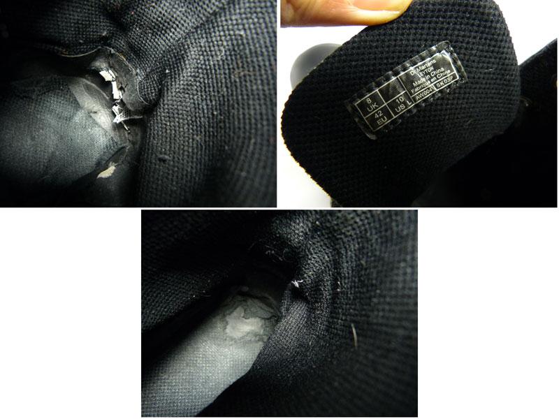 【訳あり】ドクターマーチン Dr.Martens 7ホール レザーブーツ/ハイカットスニーカー UK8(26.5cm相当)(メンズ) 【中古】