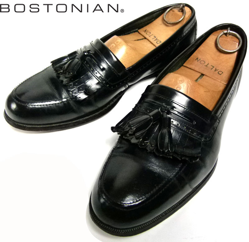 ボストニアン BOSTONIAN USA製キルトタッセルローファー 8M(26cm相当)( メンズ )【中古】