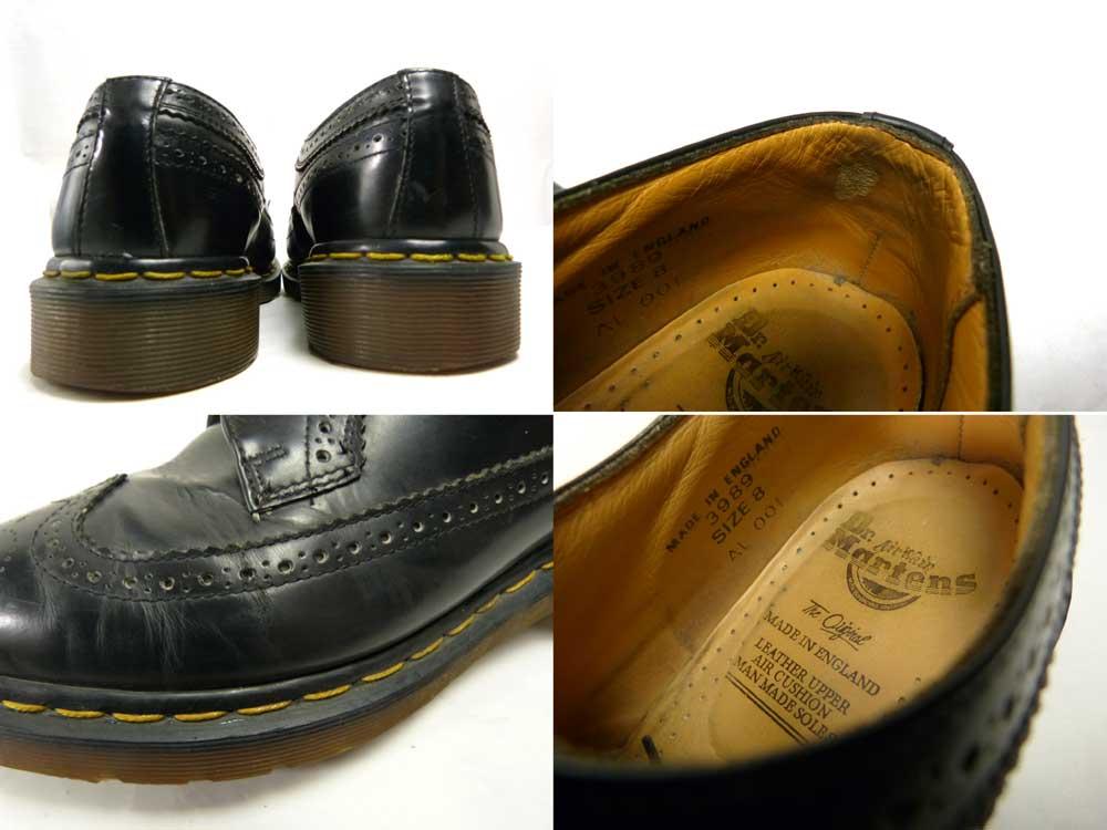 英国製 ドクターマーチン Dr.Martens 5ホール シューズ UK8 (26.5cm相当)(メンズ )【中古】