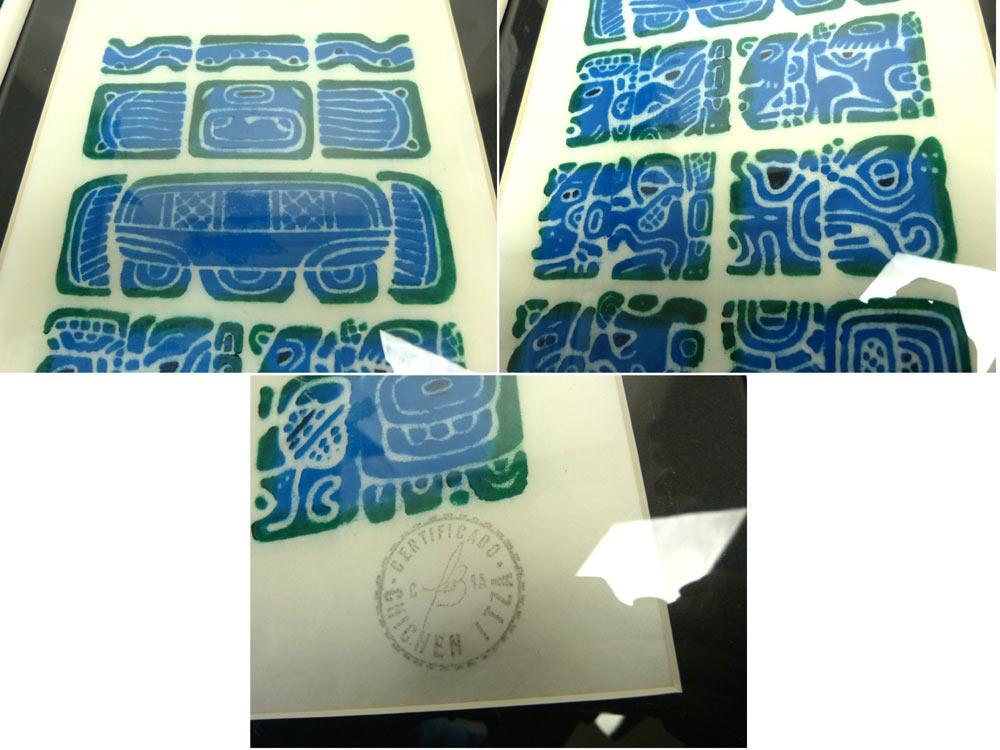 【希少】1992 Cecijema Mayan Temple マヤ文明 カレンダー(メキシコ)【中古】