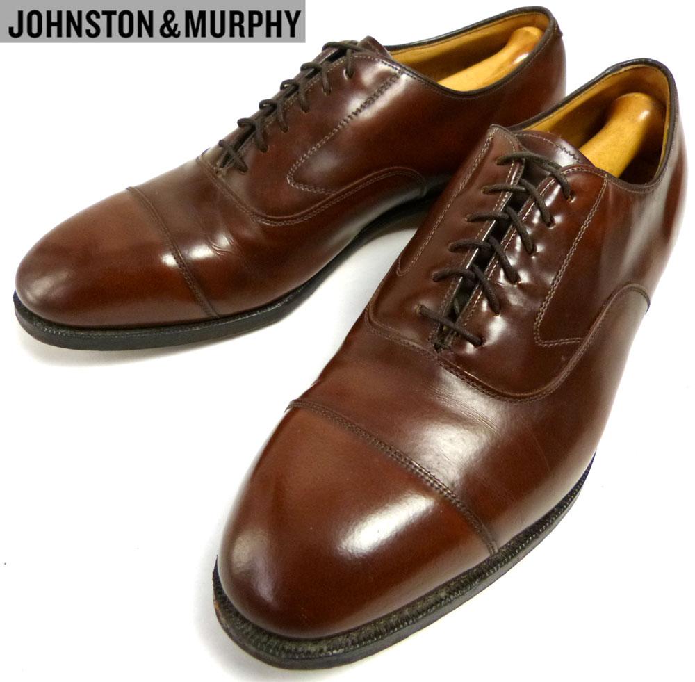 ジョンストン&マーフィー JOHNSTON & MURPHY ストレートチップシューズ 9 1/2 D/B(27cm相当) ( メンズ )【中古】